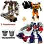 Transformers Optimus Prime, Megatron, Bumblebee En Belgrano