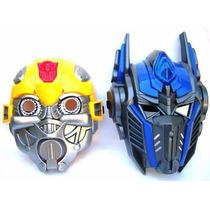 Máscara Transformers Bumblebee Optimus Con Luz