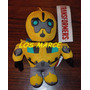 Transformers Bumblebee Optimus Prime Peluche De Tela 20 Cm