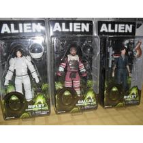 Ripley Dallas Alien 35 Neca Original Nuevo ! Aliens Alien 2