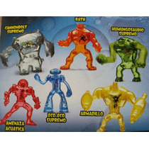 Coleccion 6 Muñecos Ben 10 Mc Donalds 2012 Ultimate Alien