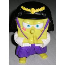 Muñeco Bob Esponja Burger King 2005 Samurai Japon