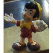 Muñecos Personajes Disney Pinocho Orig.de Goma