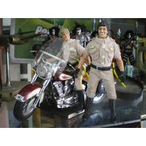 Muñecos Serie Chip Poncharello + John Y Moto