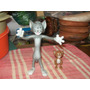 Lote De 2 Figuras Tom Y Jerry Vicma España 1982