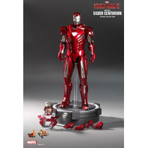 Hot Toys Iron Man 3, Mark 33, Silver Centurion Nuevo