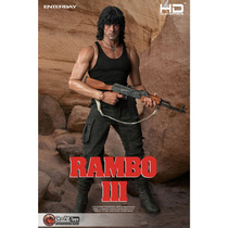 Enterbay - Rambo Iii-1/4-no Hot Toys- Senkitoys