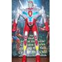 Muñeco Syber Squad Playmates Superhuman Samurai Power Ranger