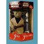 Muñeco Yoda Star Wars + Sable Habla Hasbro Importado Nuevo!