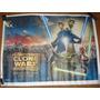 Star Wars Clone Wars -poster Afiche Via Publica De Pelicula-