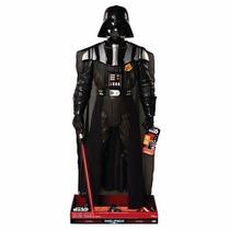 Darth Vader Gigante 122 Cm! Habla! Con Sable Y Capa! Nuevo!!