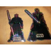 Lote 2 Hologramas De Star Wars.-