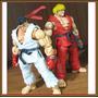 Ryu Ken Street Fighter Neca Capcon 100% Originales