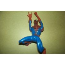 Hombre Araña Figura Plast. Articulada 10 Cm Todas Poses Vola