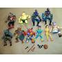 Lote Muñecos Tortugas Ninjas Playmates 1991.no He-man Rambo