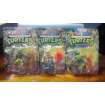 Tortugas Ninjas - Lote 3 - Pizza Face + Mondo Gecko + Varian