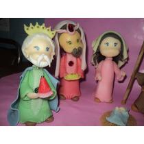 Navidad Pesebre Maria José Niño Y Reyes Magos