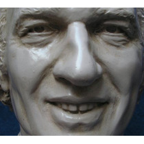 Carlos Bianchi - Busto - Escultura Hiperrealista