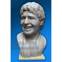 Maradona - Diego El 10 - Busto - Escultura