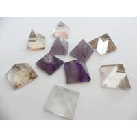 Piramide Cuarzo / Amatista Piedra Semipreciosa Artenora