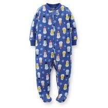 Carters Pijamas Micropolar Algodon Y Toalla
