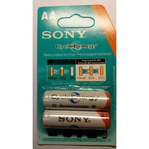 Pilas Recargables Sony Cycle Energy Aa 4600mah