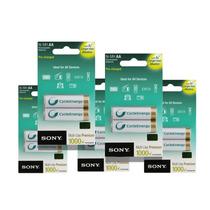10 Pilas Sony Aa Oro Recargables 5 Blis X 2u Boedo