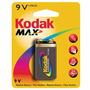 Bateria Alcalina Kodak Max 9v -blister 1 Unidad