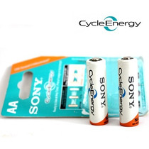 Pilas Recargables Sony Cycle Energy Aa Aaa 4600mah Blister