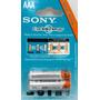 4 Pilas Recargable Sony Aaa 4300 Mah Cycle Energy Inteligent