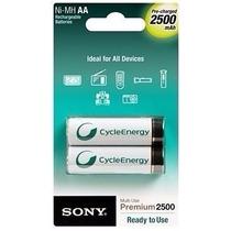 Pilas Sony Recargables 2500