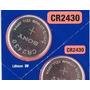 Pila Litio Boton Sony Cr2430 3v Reloj