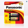 Pila Panasonic 2cr5 Litio 6v Origen Usa X 5 Unidades