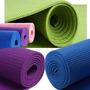 Colchoneta Mat Yoga Pilates 6 Mm Esp. Pvc Importada Original
