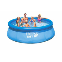 Pileta Intex Easy Set 457 X 91 Cm Con Aro Inflable Oferta!