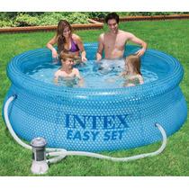 Pileta Intex 244x76 Capacidad 2419 Litros Sin Filtro