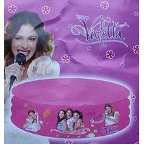 Violetta Pileta Inflable Pelotero 3 Anillos 90x30 Cm