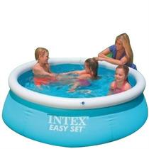 Pileta Intex 183 X 51 Easy Set Inflable Sin Caños Para Niños