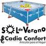 Pileta De Lona Sol De Verano Sol250 2700lts 2.55x1.60x0.65