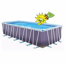 Pileta De Lona Sol De Verano 650 6.10 X 3.25 Super Oferta!!