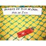 Red Jaulas De Golf Blanca Rombo 3 Cm Hilo 2 Mim