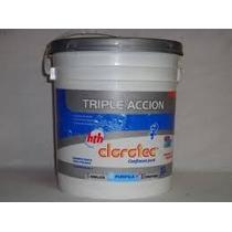 Clorotec-pastillas - Cloro- Triple Acción-env 10 Kg.-200 Gs.