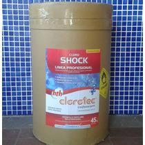 Cloro Shock De Disolución Rápida Por 45kg Clorotec