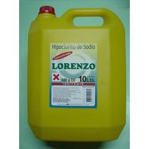 Cloro Liquido Puro Para Piletas X 10 Lts. X 10 Bidones