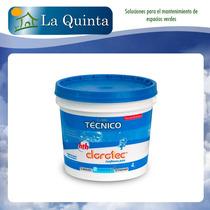 Cloro Tecnico Granulado 4 Kg Disol Lenta Clorotec