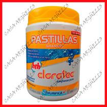 Clorotec - Cloro Pastilla Grande X 1 Kilo - Precio Imbatible