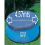 Cobertor Intex Pileta Easy Set 457cm Cubrepileta-inflable