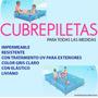 Cubrepileta Para Sol De Verano 250 2.50 X 1.65 Impermeable