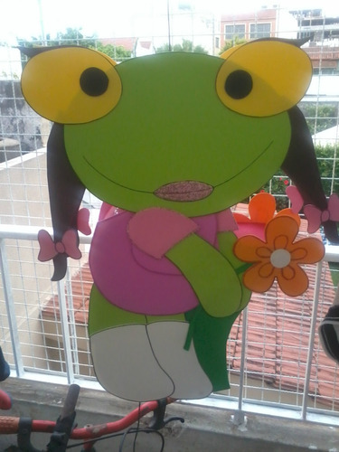 Piñata Infantil En Goma Eva Violetta, Angry Birds, Futbol
