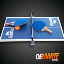 Mini Mesa De Ping Pong Bisonte